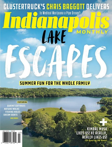 Indianapolis Monthly Cover - 7/1/2018