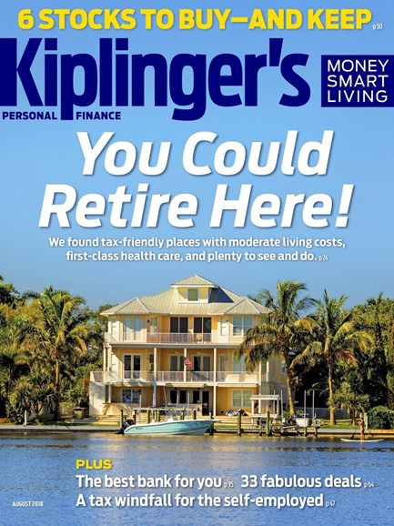 Kiplinger's Personal Finance Cover - 8/1/2018