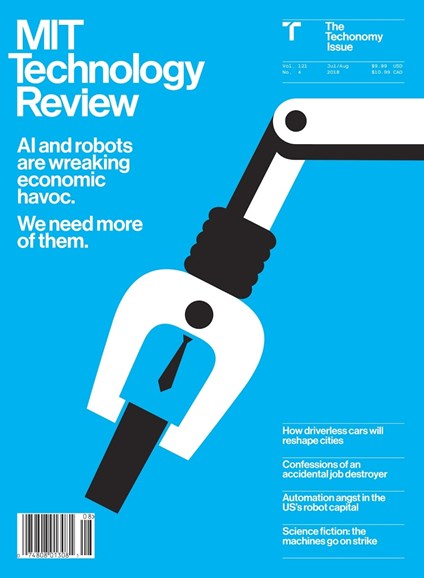 MIT Technology Review Cover - 7/1/2018