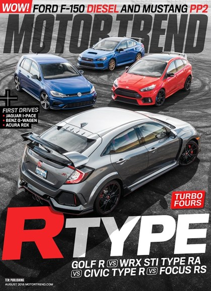 Motor Trend Cover - 8/1/2018