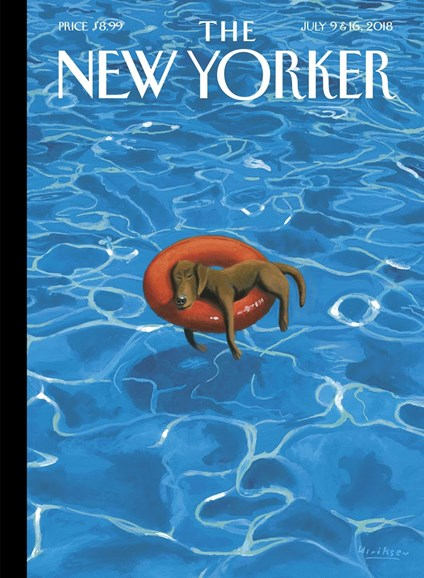 The New Yorker Cover - 7/9/2018