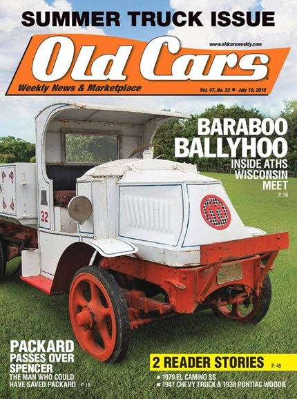 Old Cars Cover - 7/19/2018