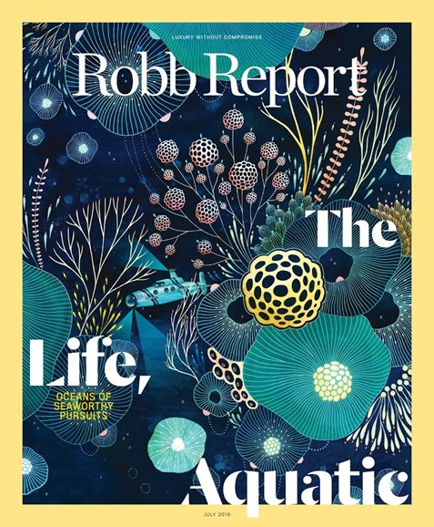 Robb Report Cover - 7/1/2018