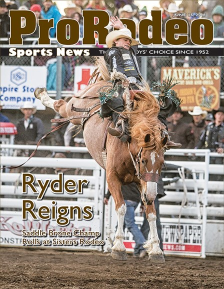 Pro Rodeo Sports News Cover - 7/1/2018
