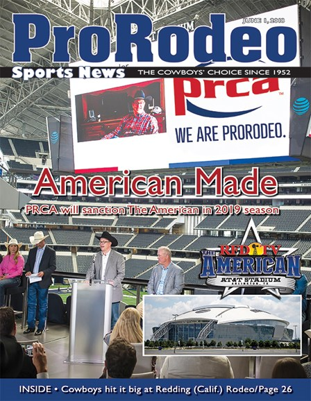 Pro Rodeo Sports News Cover - 6/1/2018