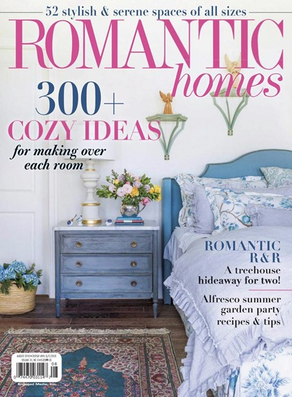 Romantic Homes Cover - 8/1/2018
