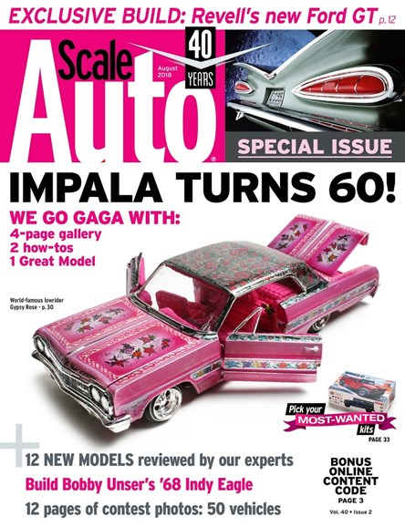 Scale Auto Magazine Cover - 8/1/2018