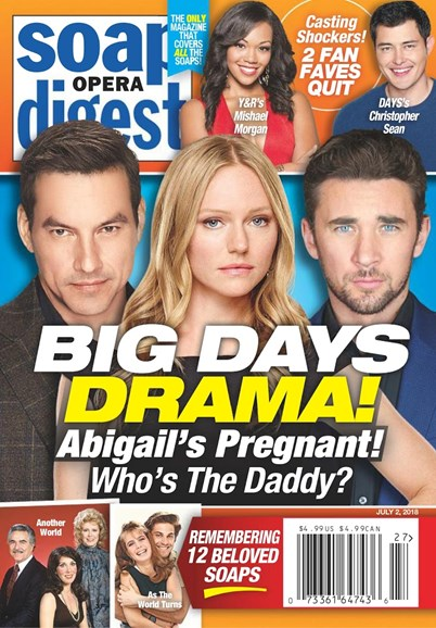 Soap Opera Digest Cover - 7/2/2018