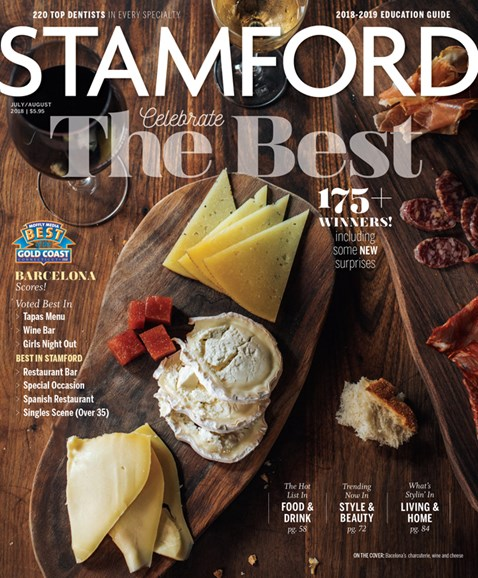 Stamford Magazine Cover - 7/1/2018