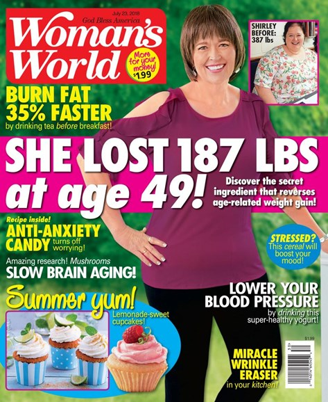 Woman's World Cover - 7/23/2018