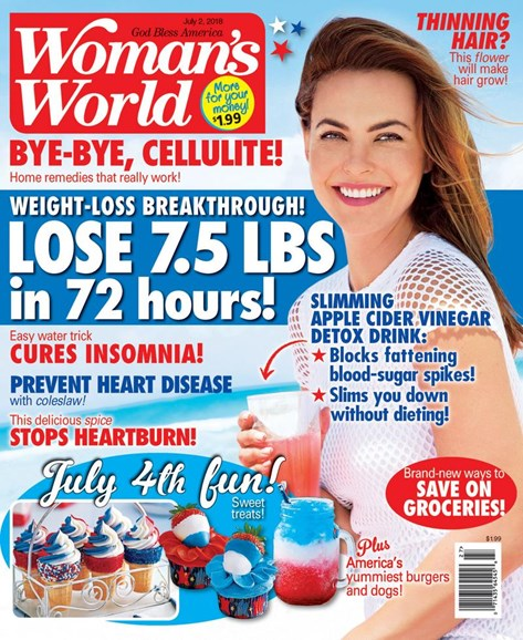 Woman's World Cover - 7/2/2018