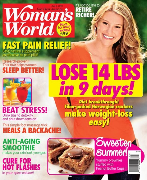 Woman's World Cover - 7/9/2018