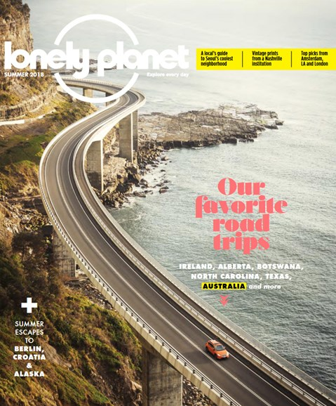 Lonely Planet Cover - 6/1/2018