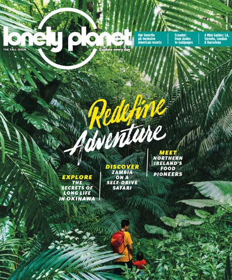 Lonely Planet Cover - 9/1/2017