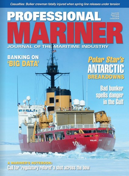 Professional Mariner Cover - 8/1/2018