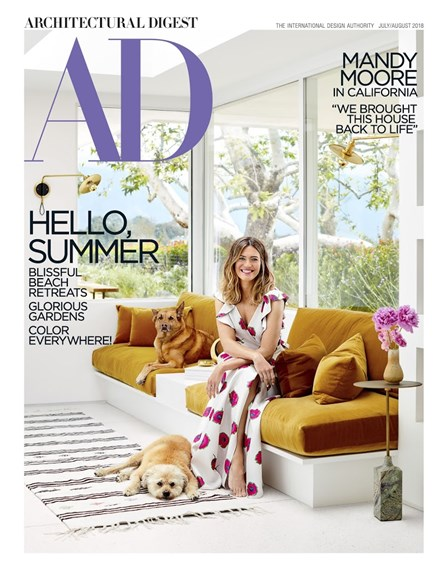 Architectural Digest Cover - 7/1/2018