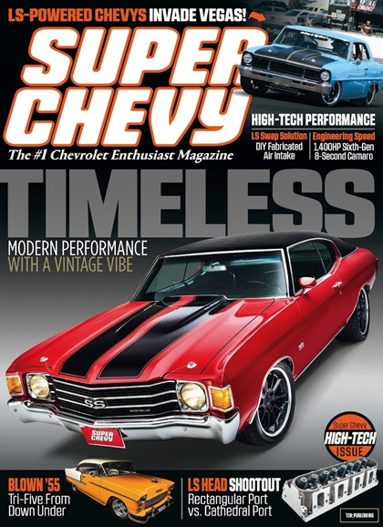 Super Chevy Cover - 9/1/2018