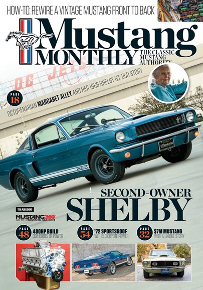 Mustang Monthly Cover - 8/1/2018