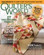 Quilter's World Magazine | 9/2018 Cover
