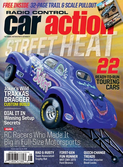 Radio Control Car Action Cover - 8/1/2018