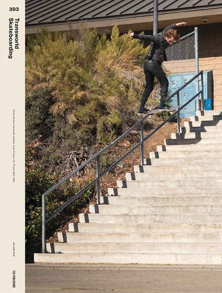 Transworld SKATEboarding Cover - 7/1/2018