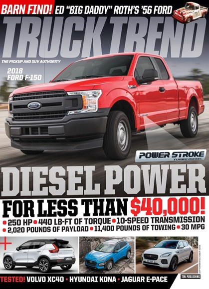 Truck Trend Cover - 9/1/2018