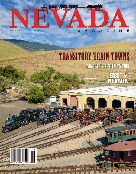Nevada Magazine Cover - 7/1/2018