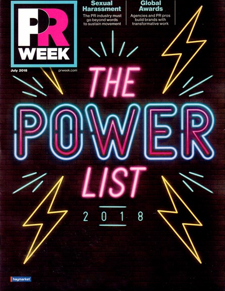 PRWeek Cover - 7/1/2018