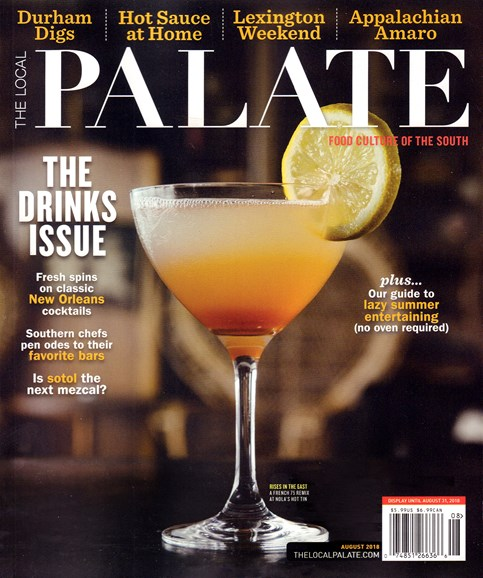 The Local Palate Cover - 8/1/2018