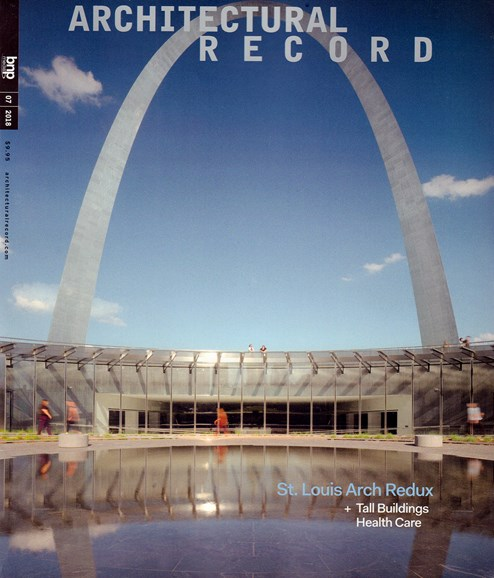 Architectural Record Cover - 7/1/2018