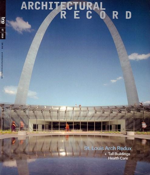 Architectural Record Cover - 7/1/2018