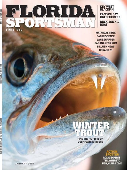 Florida Sportsman Cover - 1/1/2018