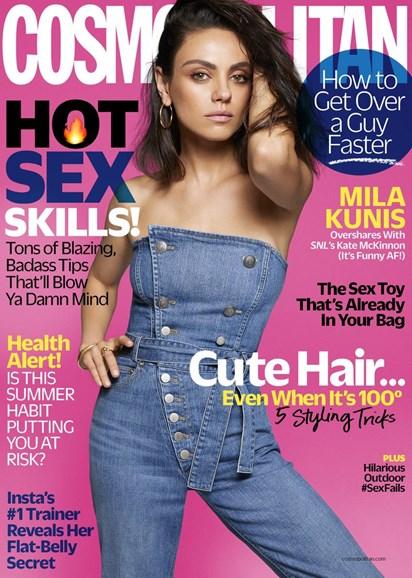Cosmopolitan Cover - 8/1/2018