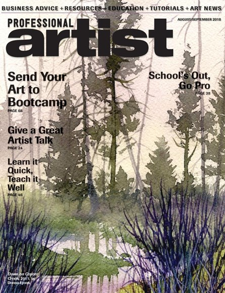 Professional Artist Cover - 8/1/2018