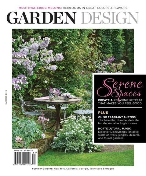 Garden Design Cover - 6/1/2016