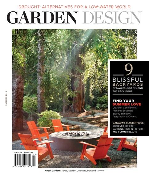Garden Design Cover - 6/1/2015