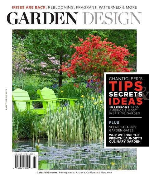 Garden Design Cover - 3/1/2016