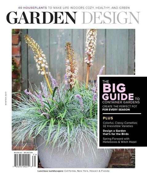 Garden Design Cover - 12/1/2016