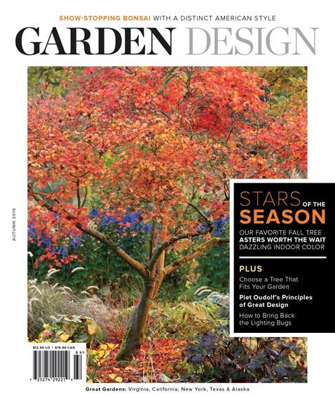 Garden Design Cover - 9/1/2016