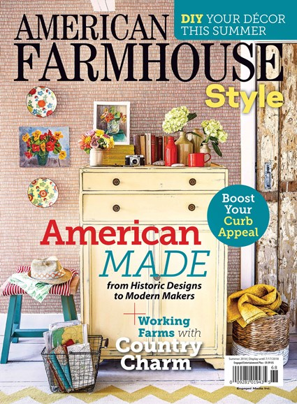 American Farmhouse Style Cover - 6/1/2018