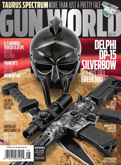 Gun World Cover - 8/1/2018