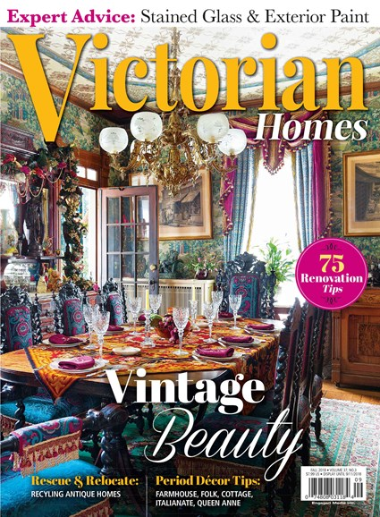 Victorian Homes Cover - 9/1/2018