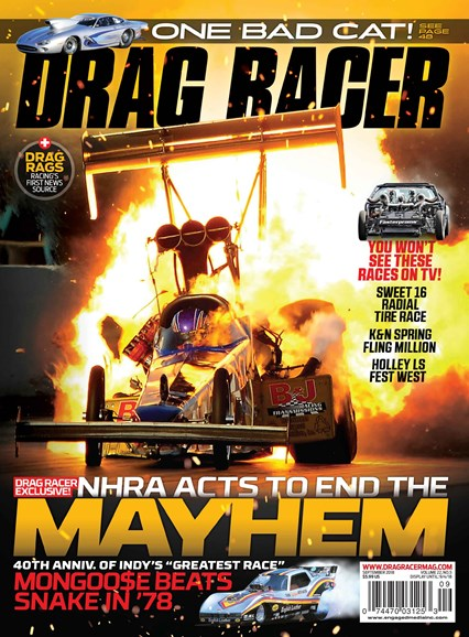 Drag Racer Cover - 9/1/2018