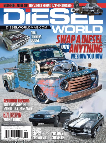 Diesel World Cover - 8/1/2018