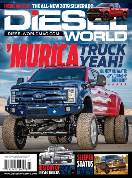 Diesel World Cover - 7/1/2018