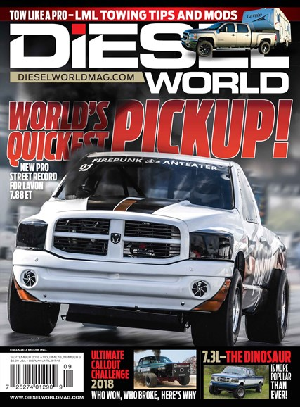 Diesel World Cover - 9/1/2018