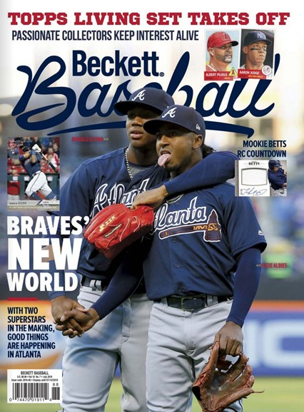 Beckett Baseball Cover - 7/1/2018