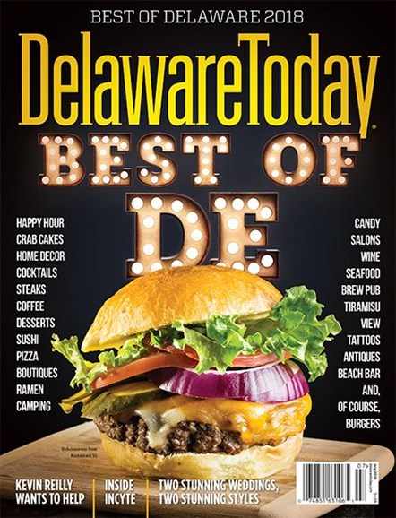 Delaware Today Cover - 7/1/2018