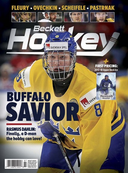 Beckett Hockey Cover - 7/1/2018