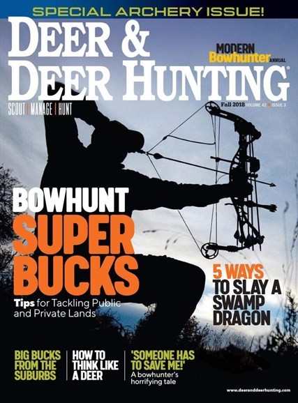 Deer & Deer Hunting Cover - 9/1/2018
